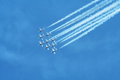 Air show. In canada bc Royalty Free Stock Photo