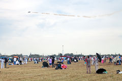 The air show Royalty Free Stock Photography