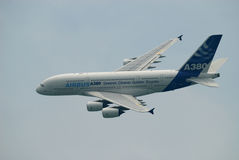 Air Show A380 Royalty Free Stock Photography