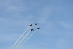 Air show. Aero L-39 Albatros Royalty Free Stock Images