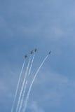 Air show. Aero L-39 Albatros Royalty Free Stock Image