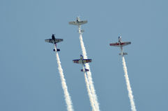 Air show at Ahmedabad, India Royalty Free Stock Photo