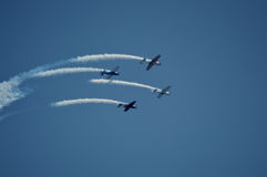 Air show at Ahmedabad, India Stock Photography