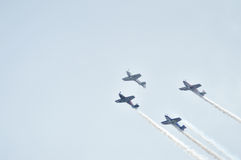 Air show at Ahmedabad, India Stock Photo