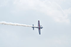 Air show at Ahmedabad, India Royalty Free Stock Photography