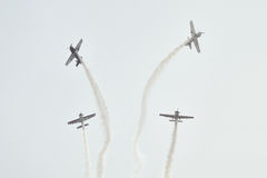 Air show at Ahmedabad, India Royalty Free Stock Image