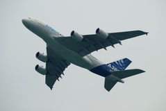 Air Show Airbus A380 Royalty Free Stock Photography