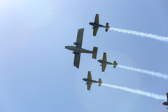 Air show Royalty Free Stock Photography