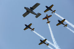 Air show Royalty Free Stock Image