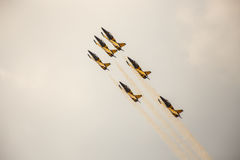 Air Show. Royalty Free Stock Photography