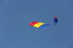 Air show Bucharest Royalty Free Stock Photography