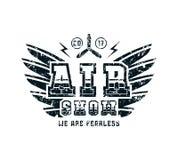 Air show emblem Stock Image