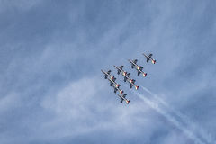 Air Show 2015 - 1 Royalty Free Stock Photography