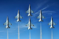 Air Show Jet Royalty Free Stock Photography