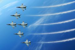 Air Show Jet Stock Photo