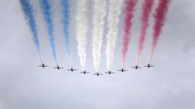 Air show at London Royalty Free Stock Image
