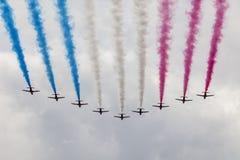 Air show at London Stock Photo