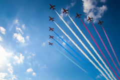 Air Show in Malta Stock Photography