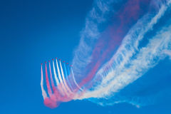 Air Show in Malta Royalty Free Stock Images