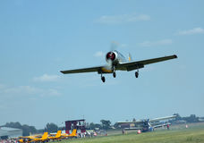 Air-show in Omsk Royalty Free Stock Photos