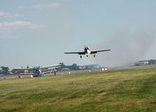 Air-show in Omsk Royalty Free Stock Images