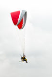 Air show paramotors Stock Images