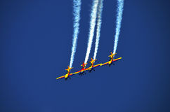Air show - planes 4 Royalty Free Stock Photos