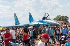 Air Show 2013, Radom 30 August 2013 Royalty Free Stock Images