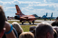 Air Show 2013, Radom 30 August 2013 Royalty Free Stock Photos