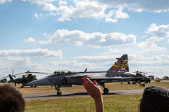 Air Show 2013, Radom 30 August 2013 Royalty Free Stock Image