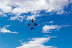 Air show swifts Royalty Free Stock Photography