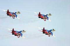 Air show team Royalty Free Stock Photos