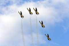 Air show team Royalty Free Stock Photography