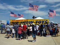 Air Show Toys stock image
