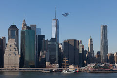Air Show, NYC, Blue Angels Royalty Free Stock Photos