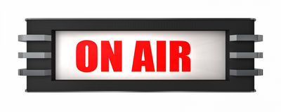 On Air Sign Royalty Free Stock Photography