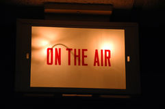 On the Air Sign Stock Images