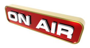 On Air sign. Stock Images