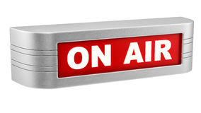 On air sign Royalty Free Stock Image