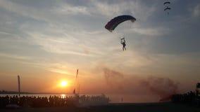 Air Sports, Parachute, Sky, Parachuting stock images