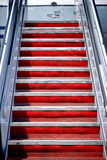 Air Stairs Plane Mobile Stairway Steps to Aircraft Royalty Free Stock Photography