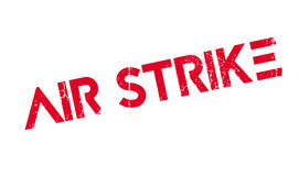 Air Strike rubber stamp Royalty Free Stock Image