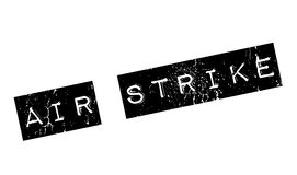 Air Strike rubber stamp Stock Images