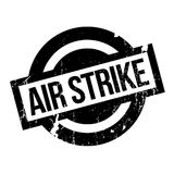 Air Strike rubber stamp Stock Photography