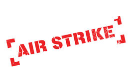 Air Strike rubber stamp Royalty Free Stock Photography