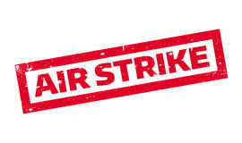 Air Strike rubber stamp Stock Image
