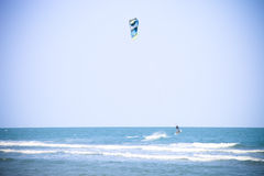 Air surf water sport activity. Air surf water sport outdoor activity Stock Photography