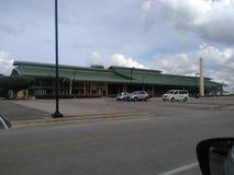 Air terminal in La Romana in the Dominican Republic royalty free stock photo