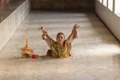 Air thaïlandais classique, Manohra Photo libre de droits