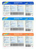 Air tickets Royalty Free Stock Images